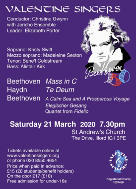 Beethoven 250 image with programme details