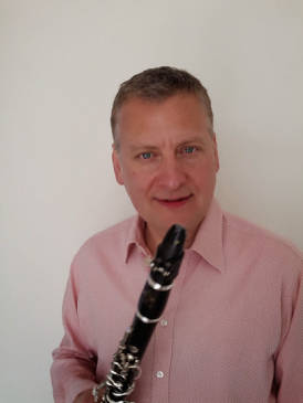 Jon Carnac - SGCO principal clarinet