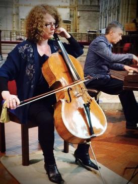 Siriol Hugh-Jones and Steve Carroll-Turner of the Brighton Chamber Ensemble
