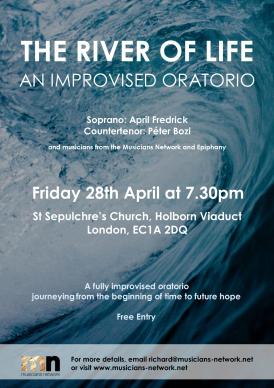 Improvised Oratorio flyer