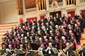 Leicester Philharmonic Choir in concert