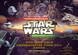 Star Wars In Concert flier