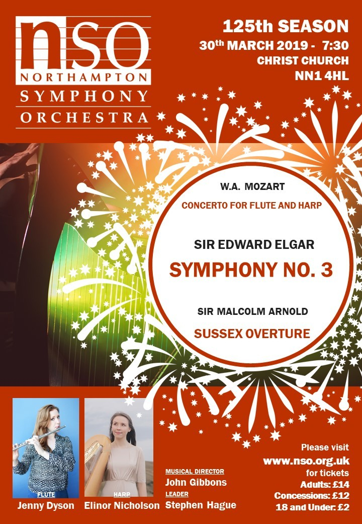 125 Years of the Northampton Symphony Orchestra: Mozart's Flute and